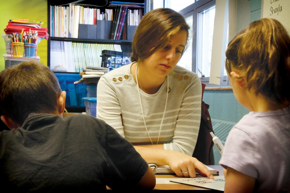After summer ends, CAP staff provide much needed in-school mentoring and support