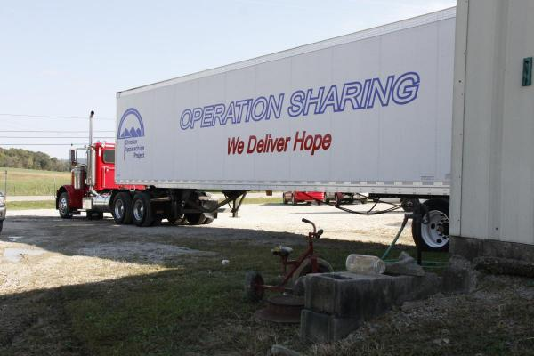 Christian Appalachian Project's Operation Sharing collects donated goods in their warehouses in Kentucky.