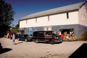 Essential goods distribution at Abundance of Rain Ministries