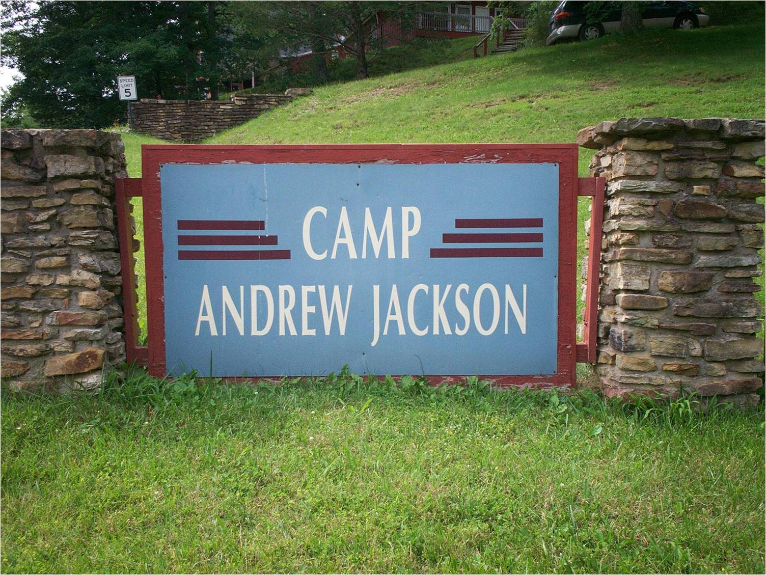 Camp Andrew Jackson is one of Christian Appalachian Project's summer programs available to Appalachian children.