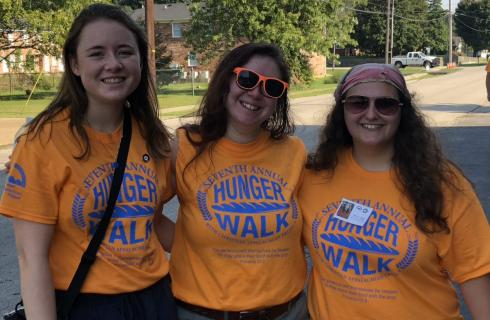 Join us for Hunger Walk