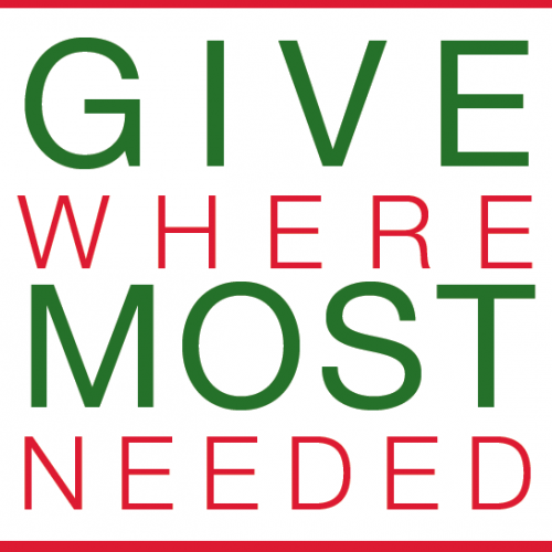 Give Where Needed Most: The Giving Spirit