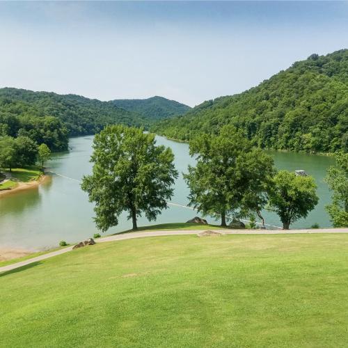 A View of a Kentucky Lake