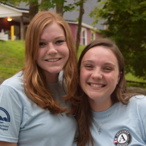 AmeriCorps members with Christian Appalachian Project